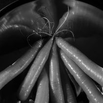 Fresh carrots - monochrome by Intensivelight Panorama-Edition