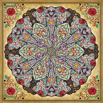 Mandala Elephants von Bedros Awak