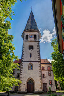 Front of the Martinskirche by safaribears