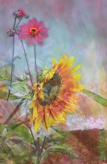 SUNFLOWER BOUQUET by © Ivonne Wentzler