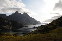 Lofoten fjord by Intensivelight Panorama-Edition