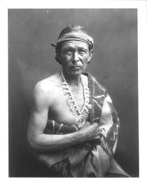 The Medicine Man, c.1915 (b/w photo)  by Bridgeman Art