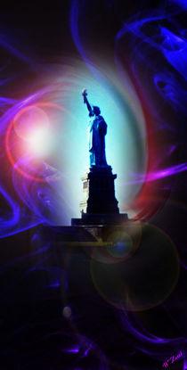 'New York  Freiheitsstatue 9' von Walter Zettl