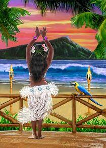 Hawaiian-sunset-hula