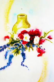 ;krug mit blumen von Maria-Anna  Ziehr