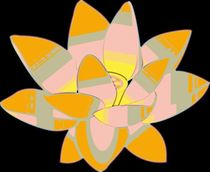 Water-lilly-pop-art