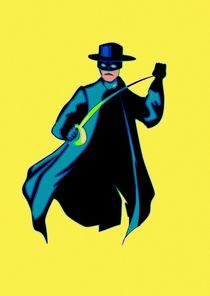 Zorro Pop Art von Florian Rodarte