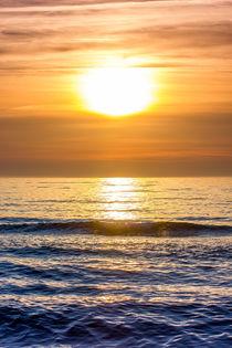 Vertical Sunset by Patrycja Polechonska
