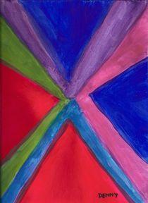 Triangles Meet von Denise Davis