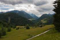 Beautiful landscape in the Dolomites by robert-boss