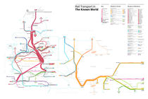 Known World Transit Map (Game of Thrones) by Michael Tyznik