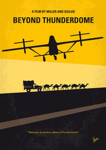 No051 My Mad Max 3 Beyond Thunderdome minimal movie poster von chungkong