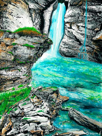 Waterfall by richard turgeon