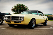 1967 Pontiac Firebird von Jon Woodhams