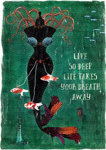 live so deep by Sybille Sterk