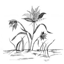 Flowers Three by Linda Ginn
