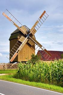 Windmühle, Mühle, Deutschland, Windmill, mill, Germany von Falko Follert