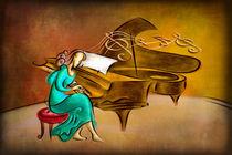 The Pianist von Bedros Awak