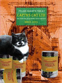Captn's Cat Ltd - Feline Giant's Treat by Wolfgang Schwerdt