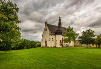 St. Laurenzikirche in Laurenziberg-düster by Erhard Hess