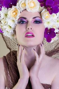 Flowers III by Kiara Black