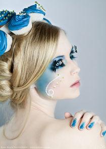 Blue Cupcakes by Kiara Black