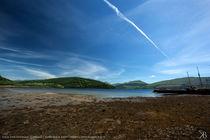 Loch Fyne Scotland by Kiara Black