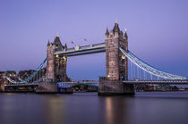 London Tower Bridge IV von elbvue