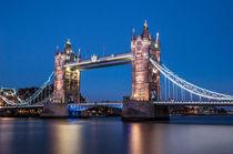 London Tower Bridge I von elbvue