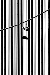 Auf den Strich gehen  by Bastian  Kienitz