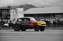 Chevrolet Bel Air Gasser Dragster Colorkey von Mark Gassner