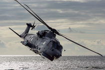 Merlin helicopter by Sam Smith