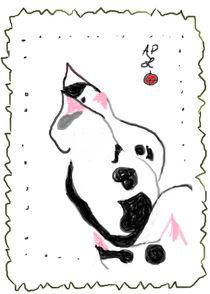 Three White Kittens by Anita Dale Livaditis