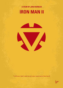 No113-2 My Iron man 2 minimal movie poster by chungkong