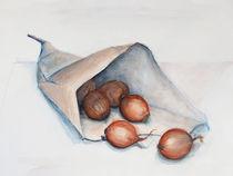 Stillleben - Vom Markt zurück by Heike Jäschke