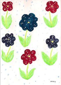 Six Florals by Denise Davis