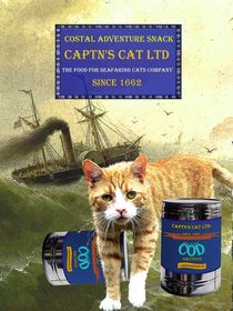 Captn's Cat Ltd - Costal Adventure Snack von Wolfgang Schwerdt