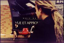 Girl travelling by Paris Subway von Marcia Treiger