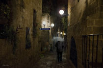 Regengasse -rain alley- von Wolfgang Pfensig