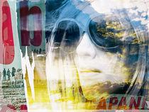Woman on the beach von Gabi Hampe