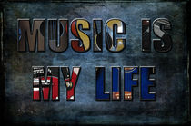 Music Is My Life von Randi Grace Nilsberg