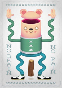 No Brain, No Pain by Thomas Hollnack