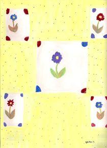 Flowers In Windows von Denise Davis