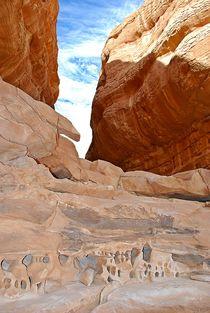 Felskunst in der Wüste Sinai von loewenherz-artwork
