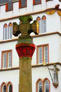 Marktkreuz in Trier by gscheffbuch