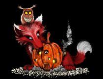 Halloween Friends by tintenrebell