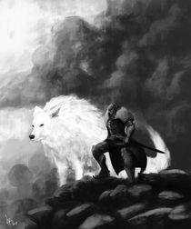 O-cavaleiro-e-o-lobo-fanart