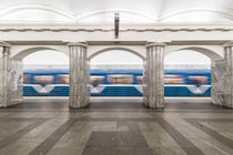 st. Petersburg metro by moxface