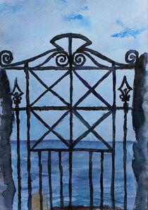 Old gate il Calabria by Katia Boitsova-Hošek