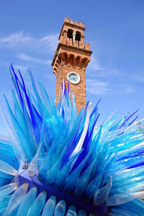 Murano Clock Tower by Valentino Visentini